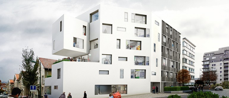 A PROJECT OF MATADOR ARCHITECTURE OFFICES - BRUSSELS, 2013. Housing.